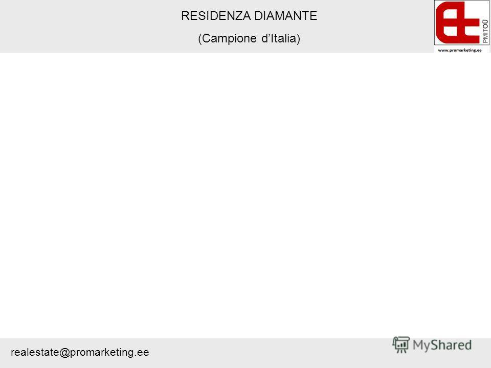 RESIDENZA DIAMANTE (Campione dItalia) realestate@promarketing.ee