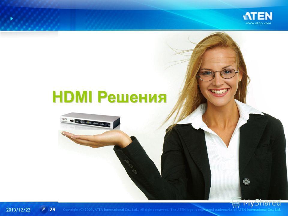 2013/12/22 www.aten.com 29 HDMI Решения HDMI Решения