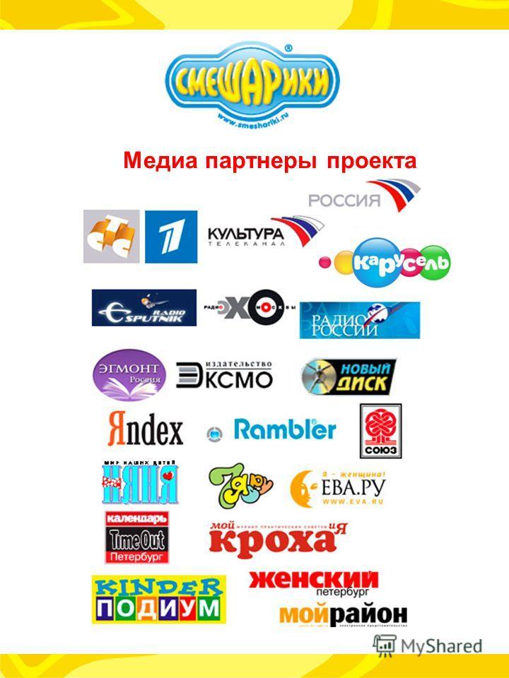 Медиа партнеры проекта