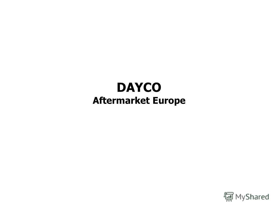 DAYCO Aftermarket Europe