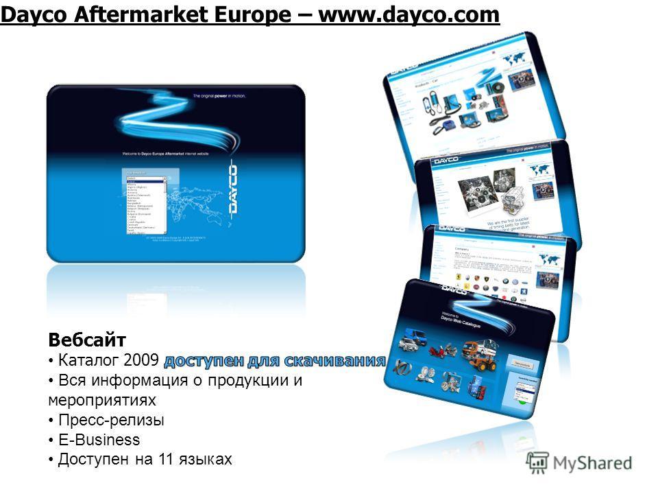 Dayco Aftermarket Europe – www.dayco.com