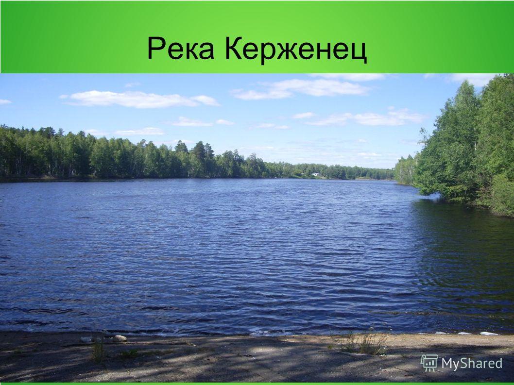Река Керженец