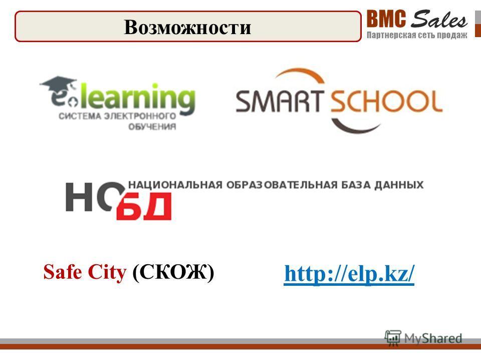 Возможности Safe City (СКОЖ) http://elp.kz/
