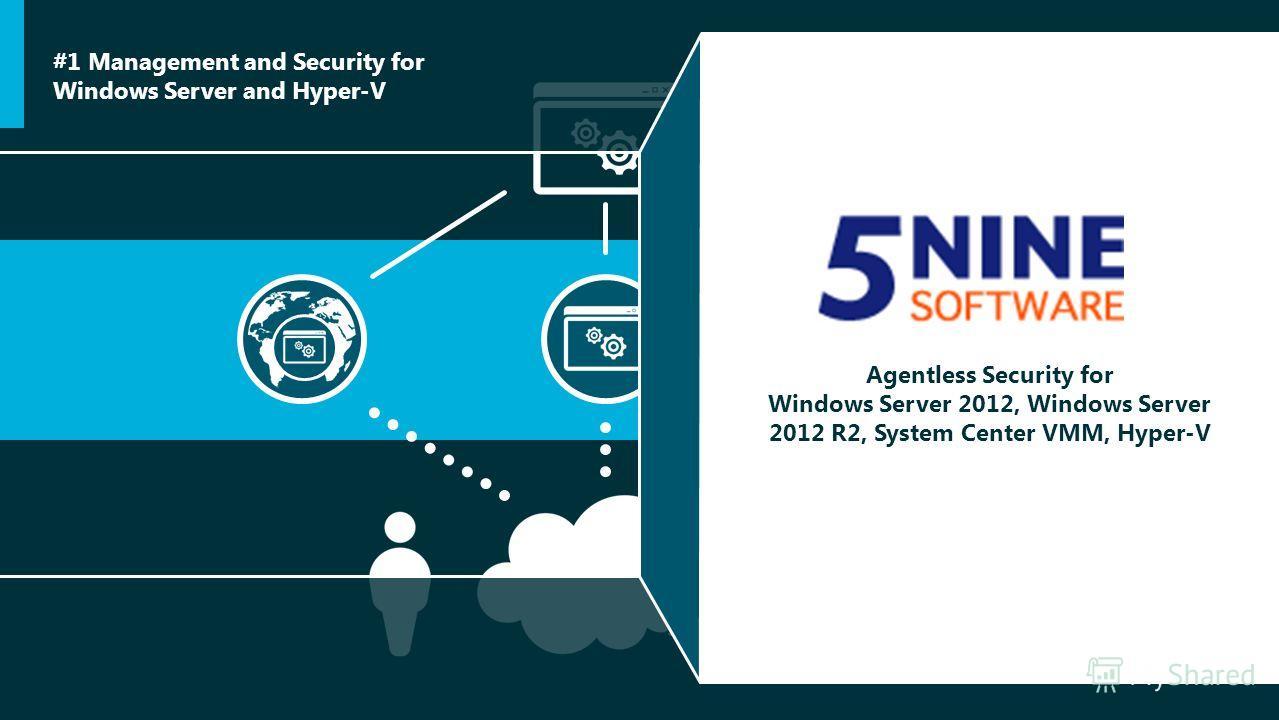 Agentless Security for Windows Server 2012, Windows Server 2012 R2, System Center VMM, Hyper-V #1 Management and Security for Windows Server and Hyper-V