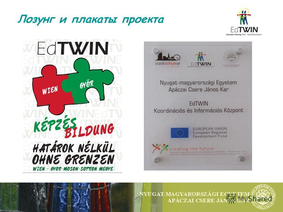 Лозунг и плакаты проекта