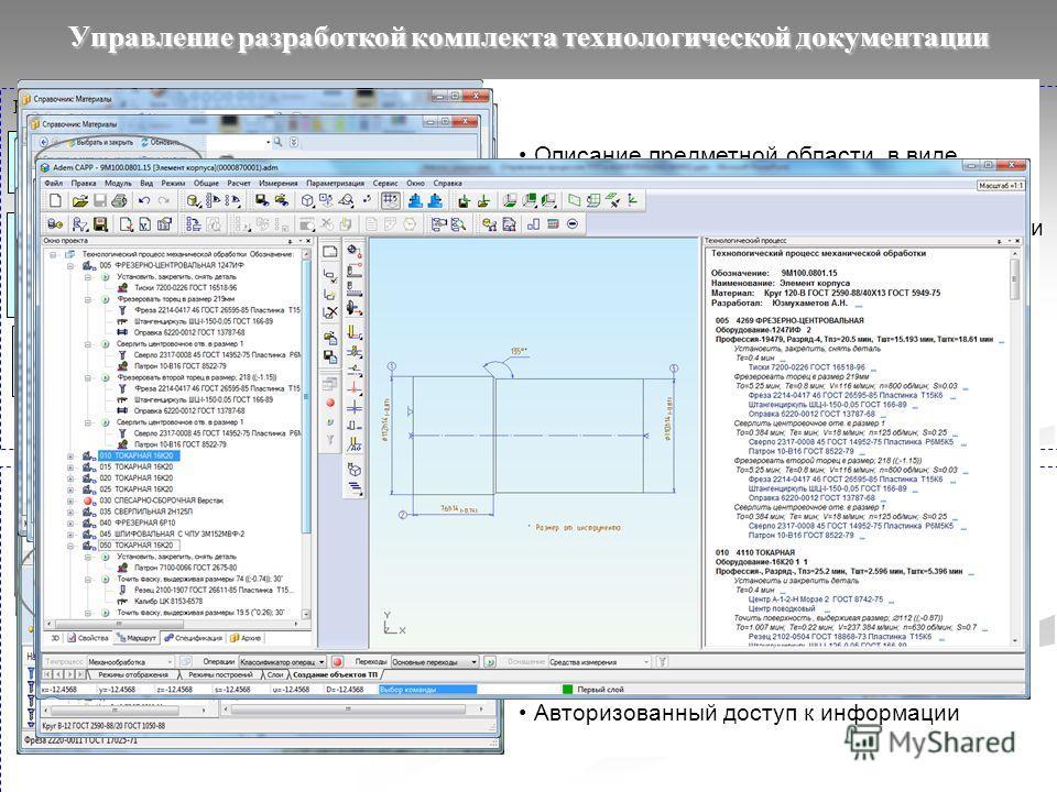 Используемые CAD системыADEM PDM/CAPP/CAM + справочная система iRis ПАРУС-Предприятие 8 Inventor SolidWorks 3D сборки AutoCAD CATIA NX ProE 3D модели Структура изделий и сборочных единиц (PDM) 3D модели Преобразование в формат ADEM и Контроль геометр