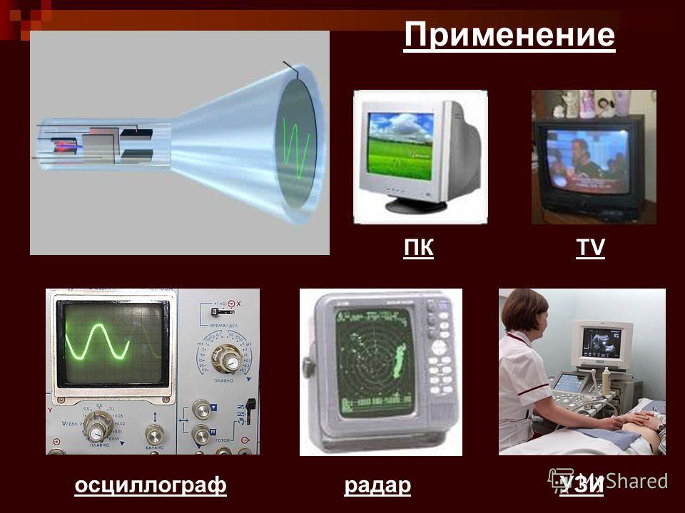 осциллограф ПКTV радарУЗИ Применение