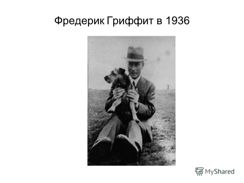 Фредерик Гриффит в 1936