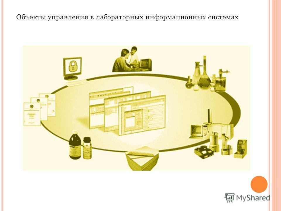 Объекты управления в лабораторных информационных системах