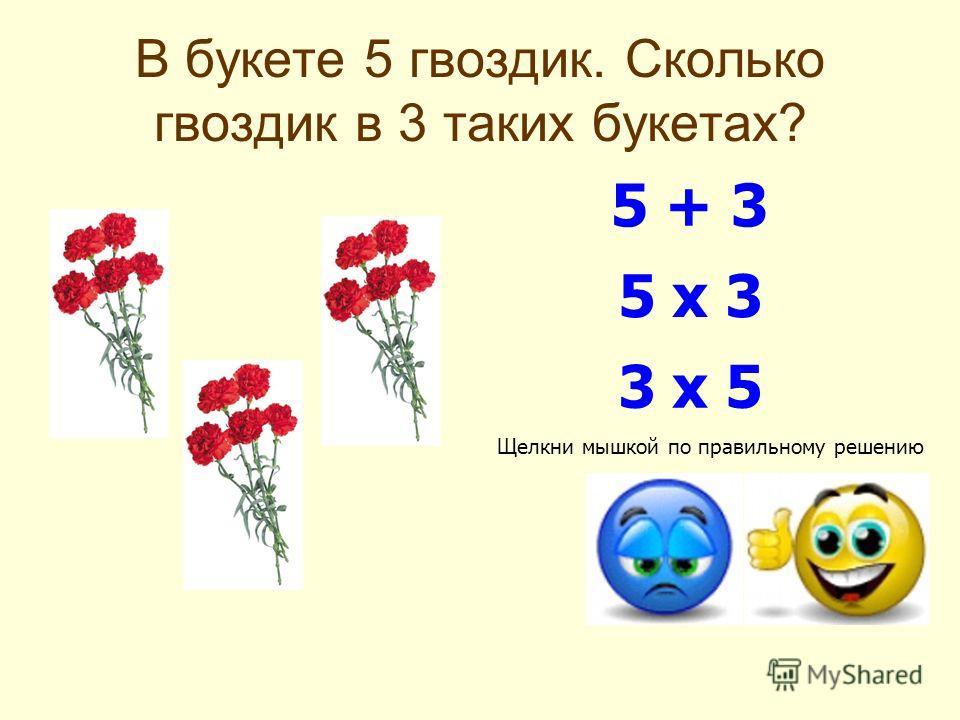 Фрагмент урока по математике в начальных классах