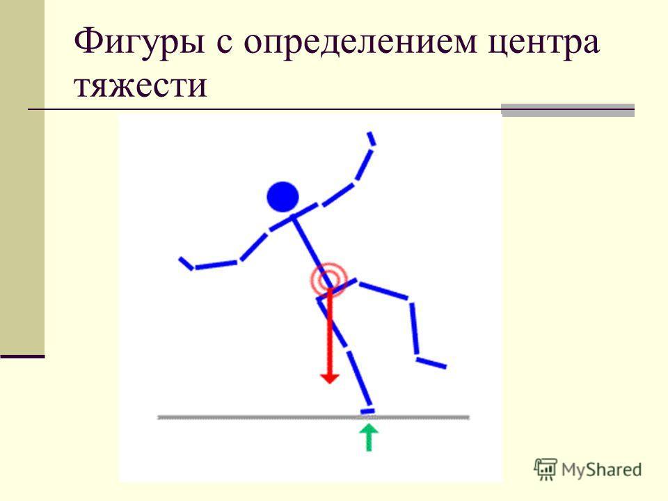 Фигуры с определением центра тяжести