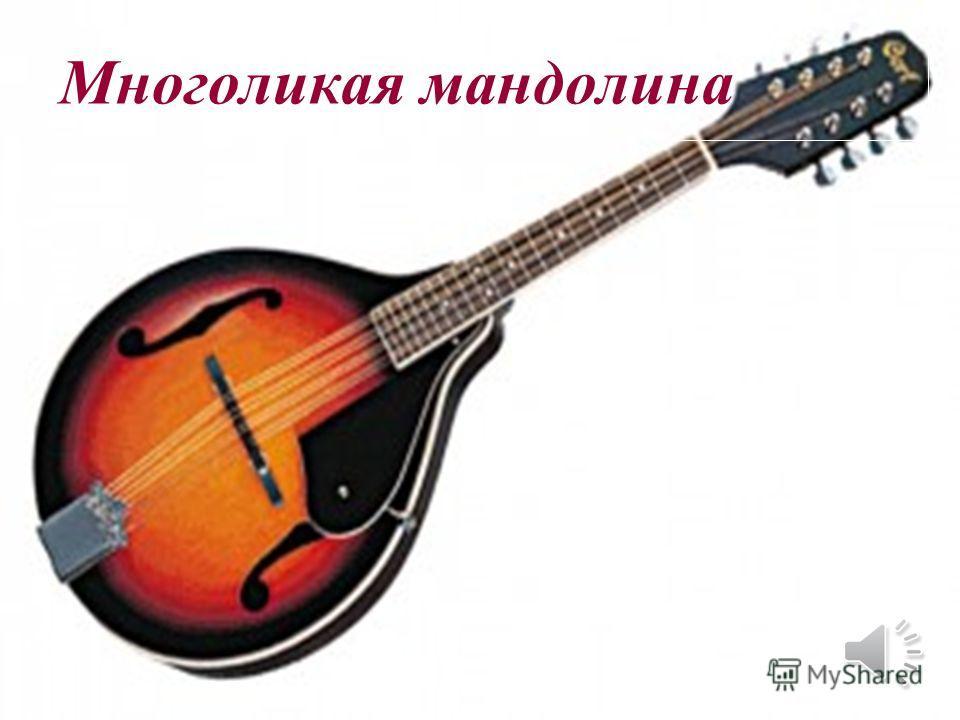 Многоликая мандолина