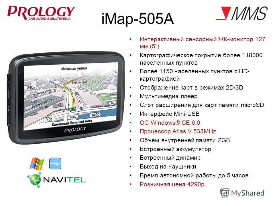 iMap-505A Интерактивный сенсорный ЖК-монитор 127 мм (5
