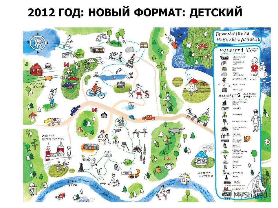 2012 ГОД: НОВЫЙ ФОРМАТ: ДЕТСКИЙ