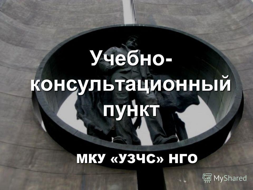 Учебно- консультационный пункт МКУ «УЗЧС» НГО