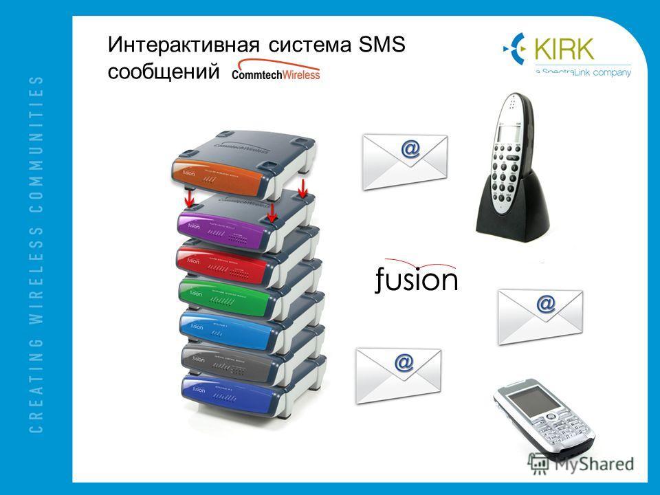 Интерактивная система SMS сообщений