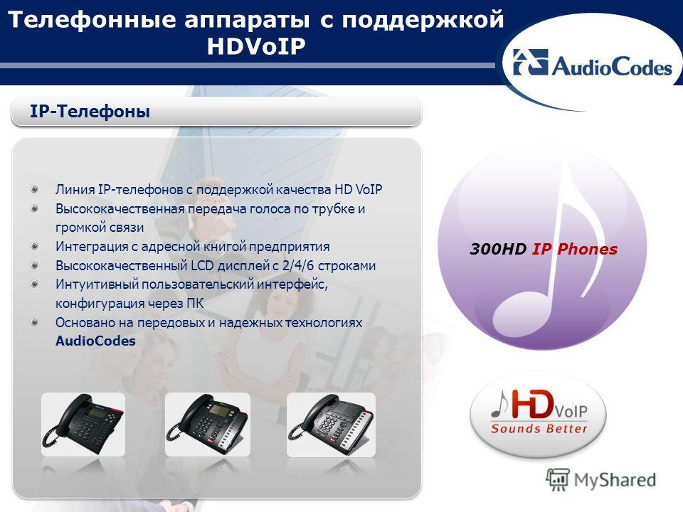 Телефонные аппараты с поддержкой HDVoIP Линия IP-телефонов с поддержкой качества HD VoIP Высококачественная передача голоса по трубке и громкой связи Интеграция с адресной книгой предприятия Высококачественный LCD дисплей с 2/4/6 строками Интуитивный