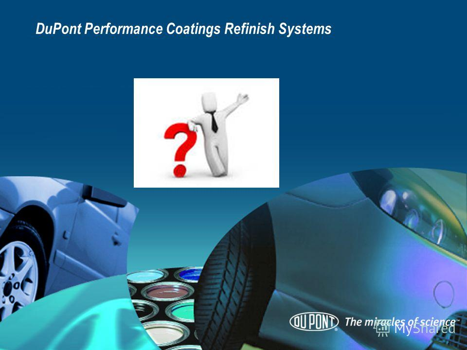 DuPont Performance Coatings Refinish Systems