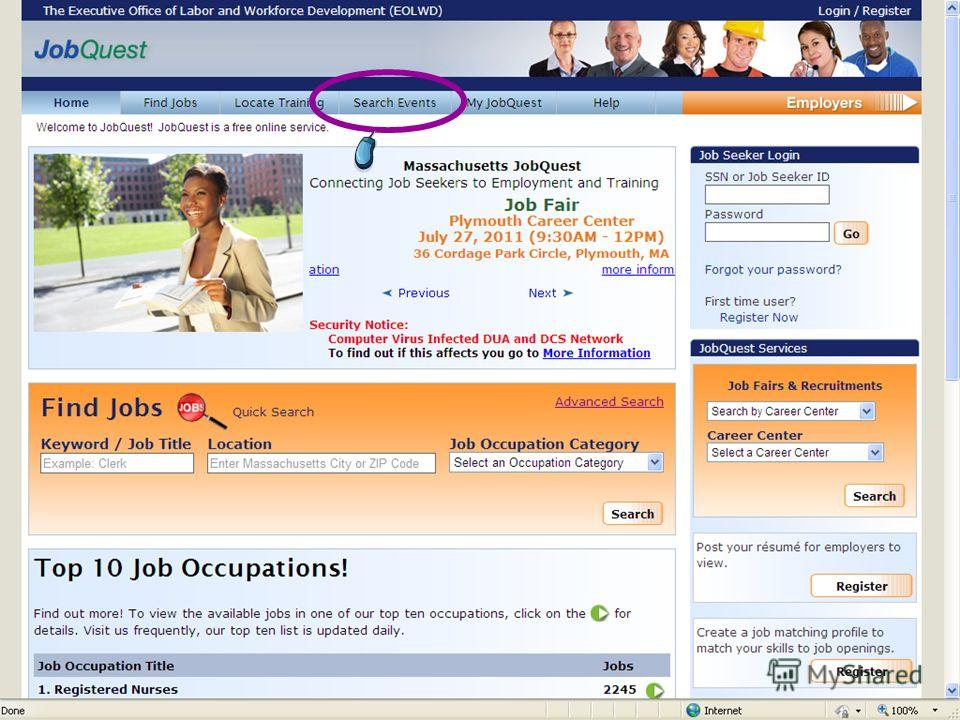 HOT JOBS List & Job Quest