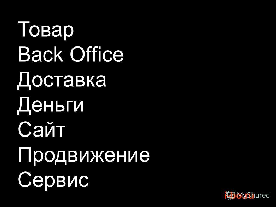 i-bo.ru Товар Back Office Доставка Деньги Сайт Продвижение Сервис