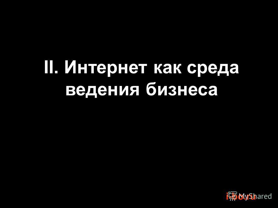 i-bo.ru II. Интернет как среда ведения бизнеса