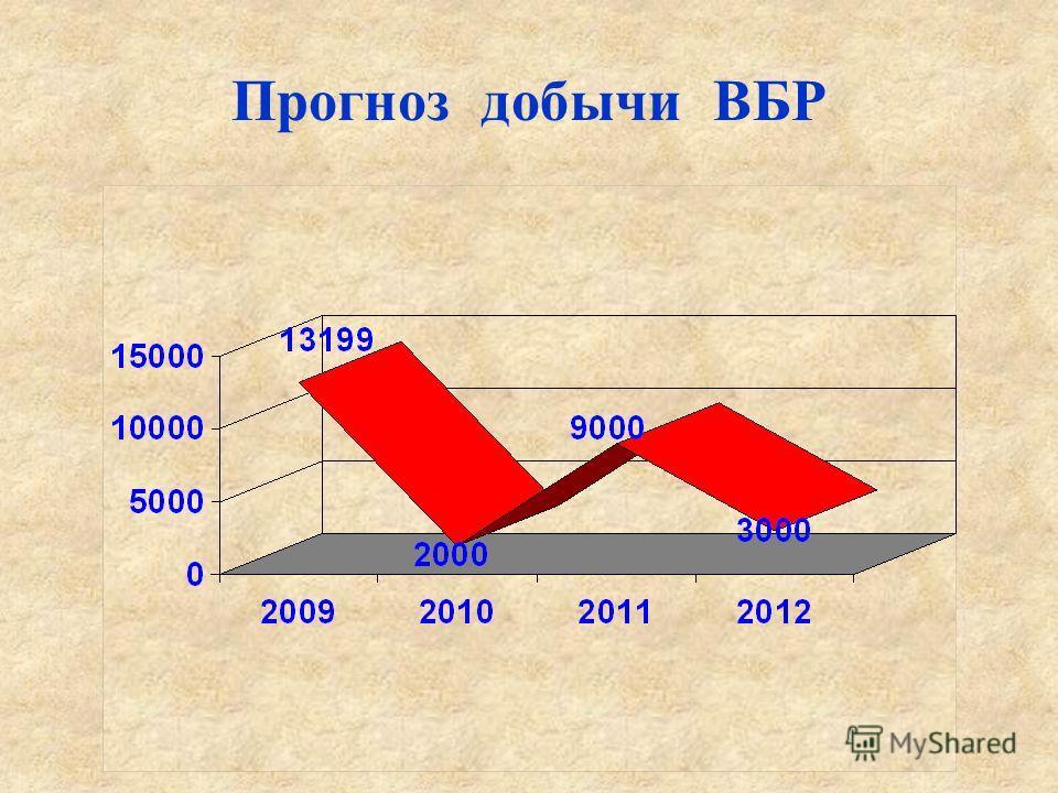 Прогноз добычи ВБР