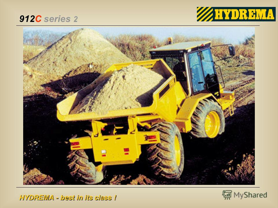 912C series 2 HYDREMA - best in its class !