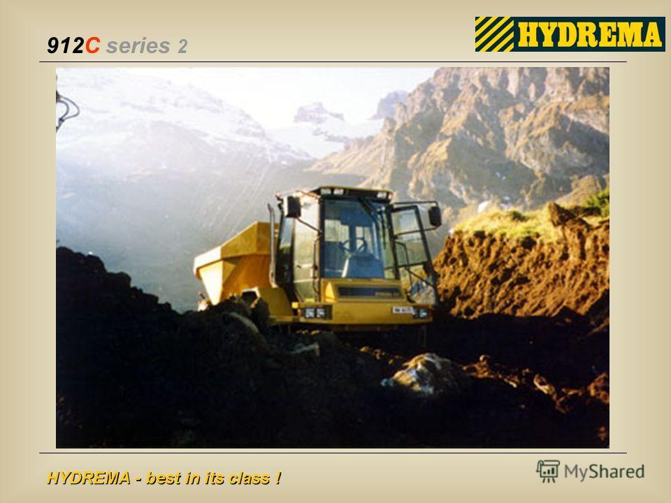 912C series 2 HYDREMA - best in its class !