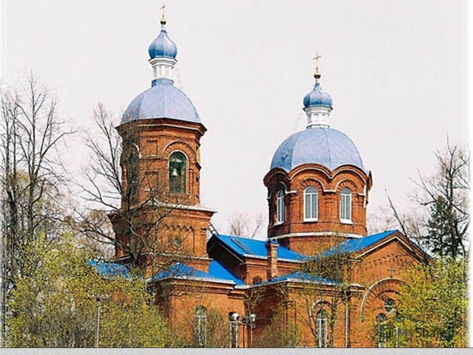 ХРАМ РОЖДЕСТВА ПРЕСВЯТОЙ БОГОРОДИЦЫ СЕЛА РОЖДЕСТВЕНО, Гатчинский район.
