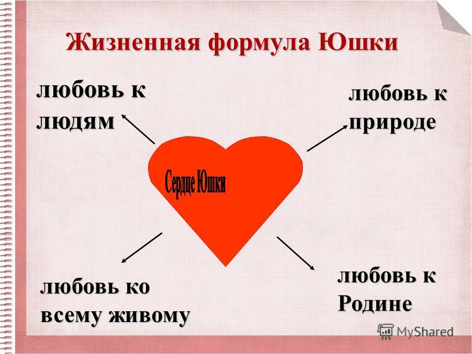 любовь к природе любовь к Родине любовь к людям любовь ко всему живому