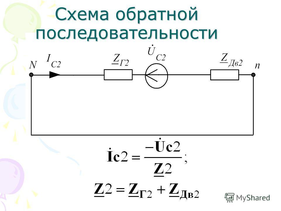 Схема прямой последовательности