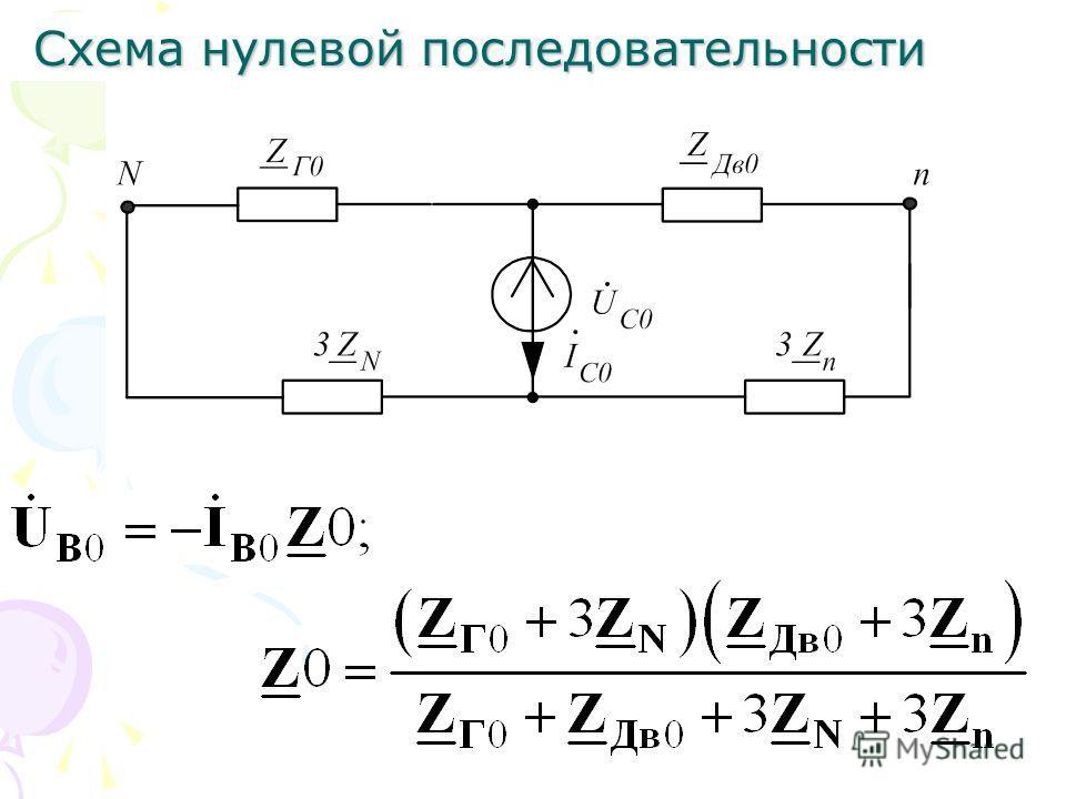 Схема обратной последовательности