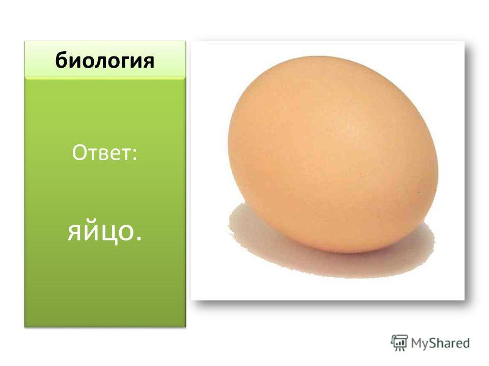 биология Ответ: яйцо. Ответ: яйцо.