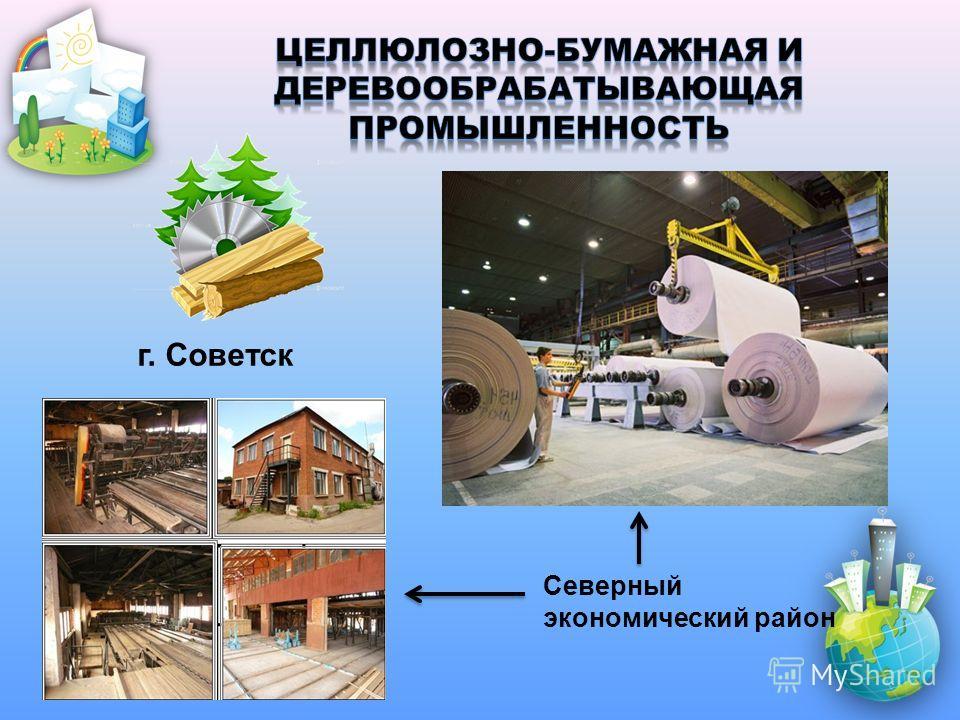 Северный экономический район г. Советск
