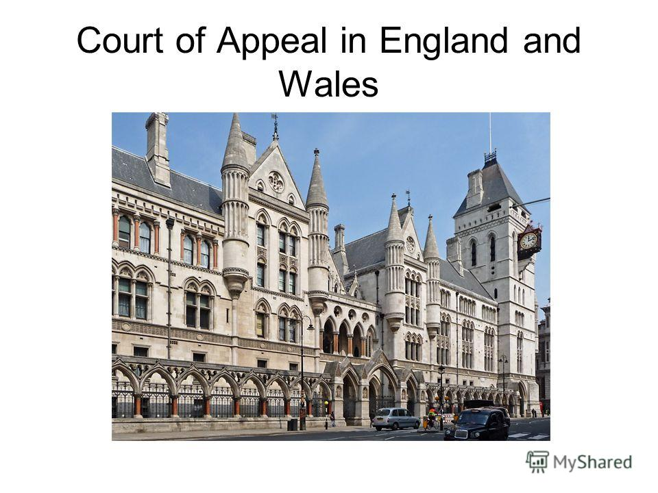 Court of Appeal in England and Wales