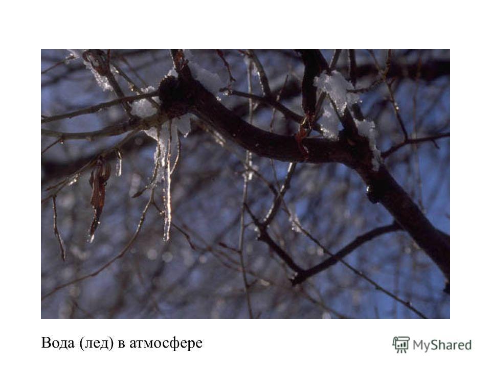 Вода (лед) в атмосфере