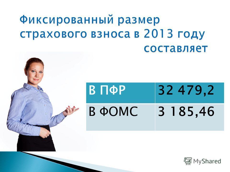 В ПФР32 479,2 В ФОМС3 185,46