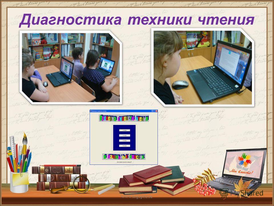 Диагностика техники чтения www.logoped.ru