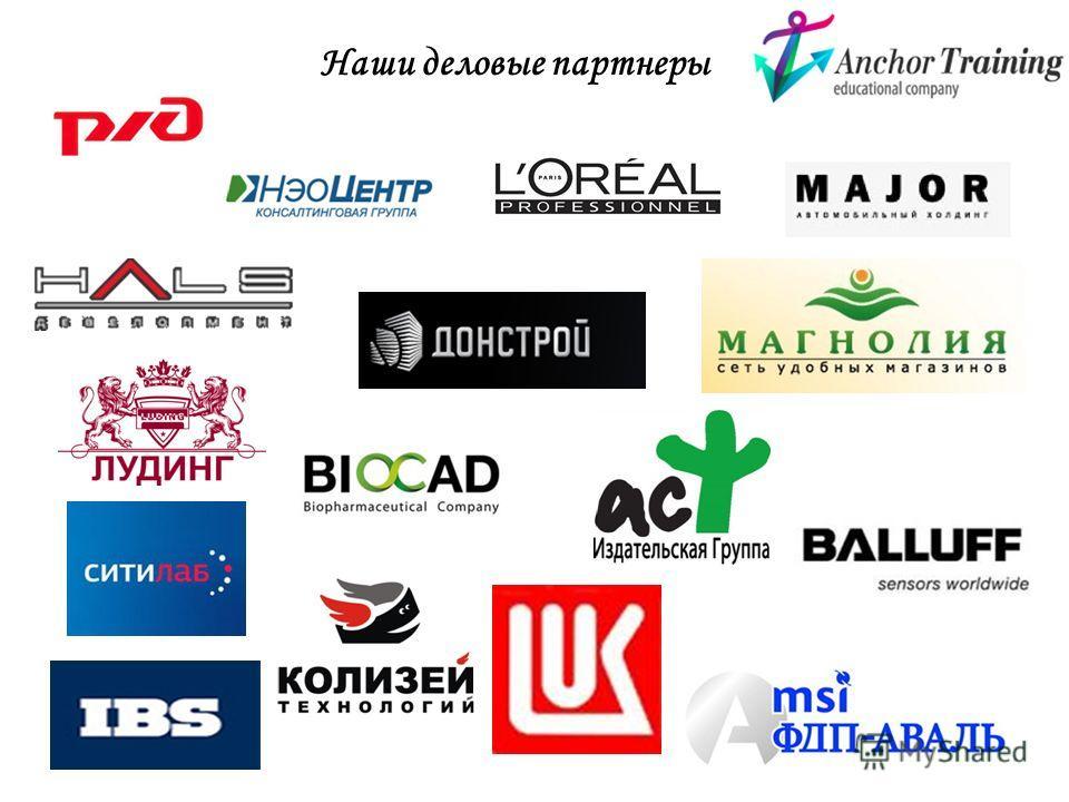 Наши деловые партнеры