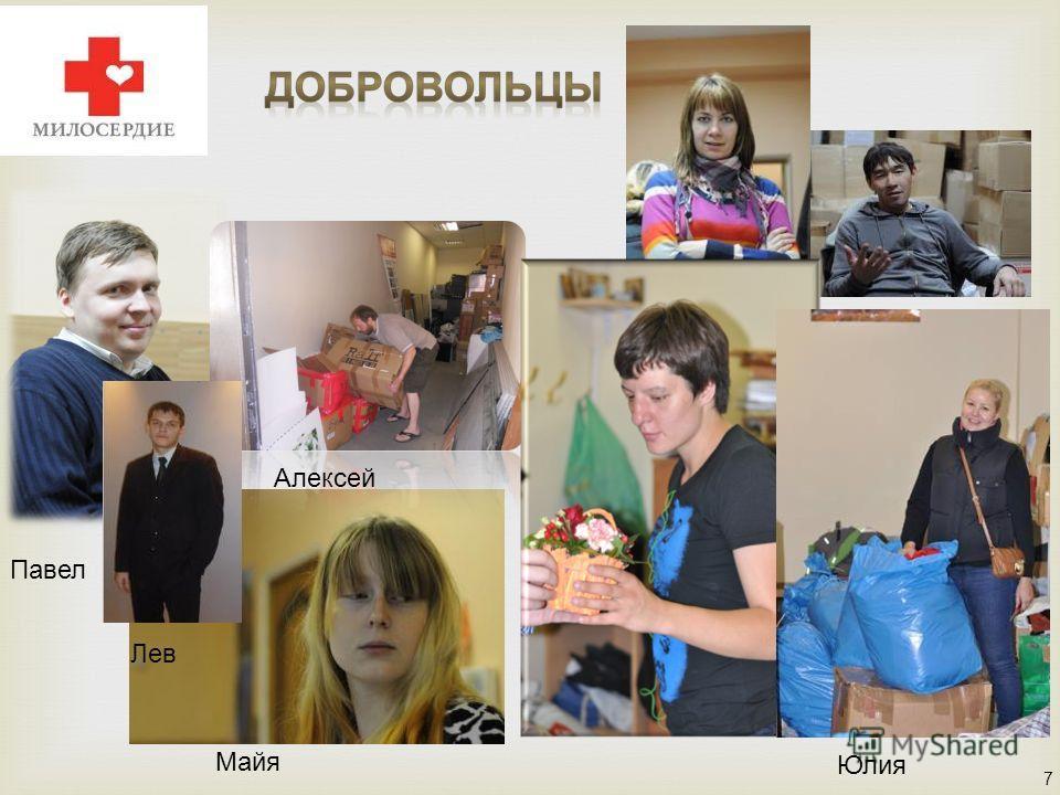7 Павел Майя Алексей Ольга Юлия Алексей Лев