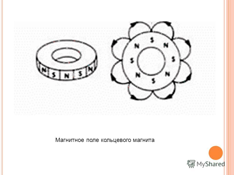 Магнитное поле кольцевого магнита