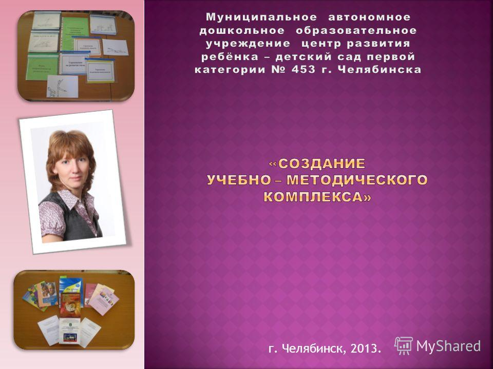 г. Челябинск, 2013.