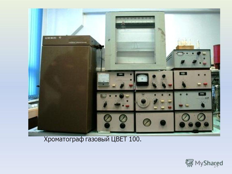 24 Хроматограф газовый ЦВЕТ 100.