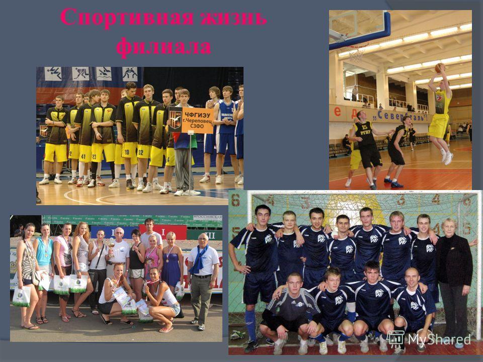 Спортивная жизнь филиала