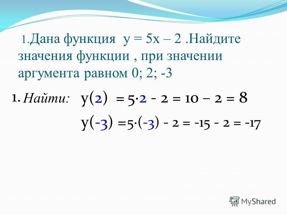 1 2 3 -3 -2 -1 0 -2 -3 321321 у х у = 0,5х + 3 -6 -5 - Найдите координаты точек пересечения с осями координат графика функции у=0,5х+3