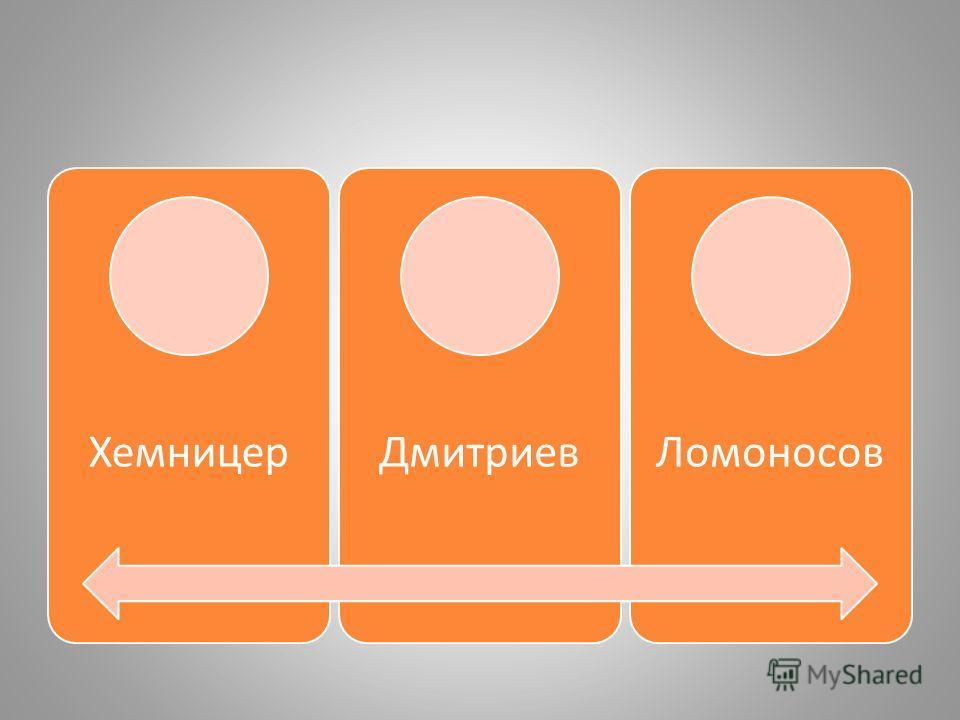 ХемницерДмитриевЛомоносов