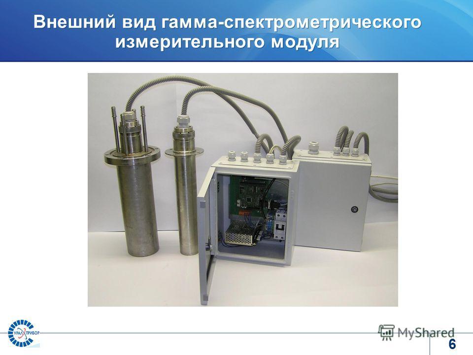 www.tvel.ru Внешний вид гамма-спектрометрического измерительного модуля 6