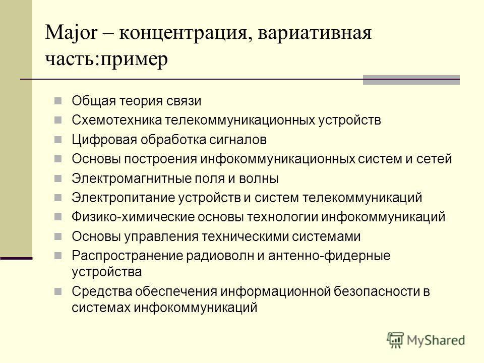 теория связи Схемотехника