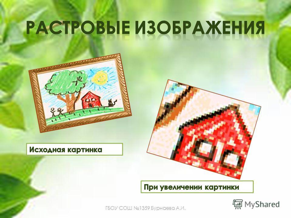 ГБОУ СОШ 1359 Бурнаева А.И.