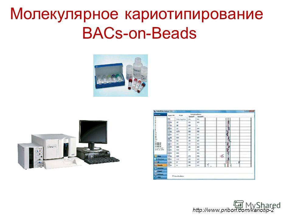 Молекулярное кариотипирование BACs-on-Beads http://www.pribori.com/kariotip-2